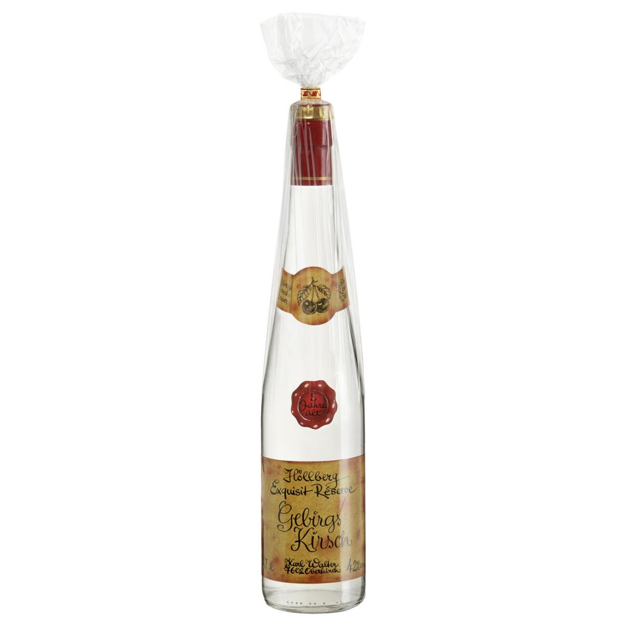 0,7 Liter Flasche Höllberg Gebirs-Kirsche