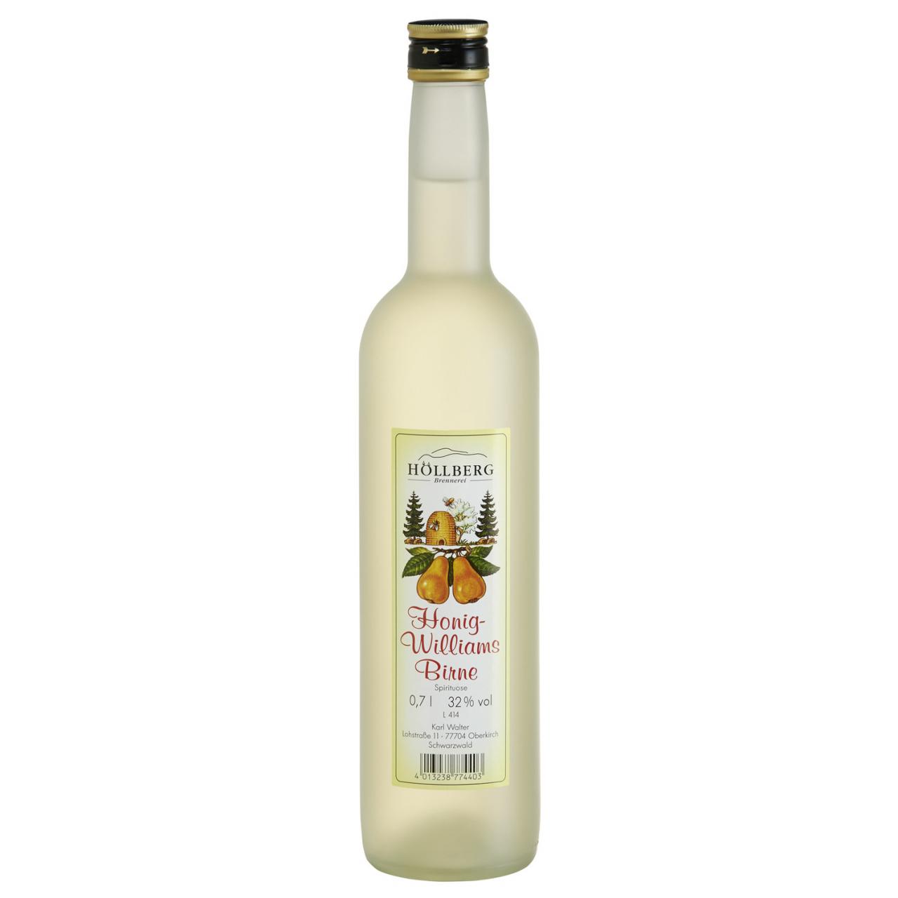 0,7 Liter Flasche Höllberg Honig Williams