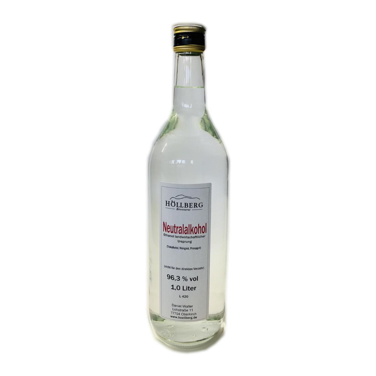 Neutralalkohol 96,3 % vol.